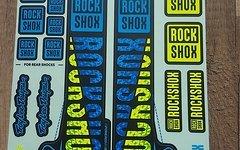 Rock Shox Decals für Pike / Lyric TroyLeeDesigns