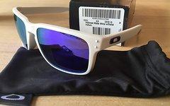 Oakley Holbrook Matte White Lens: Violet Iridium *NEU*