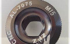 Aluminium Kurbelschraube M15 *titan grey*