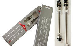 Titanium Schnellspann Achse Set / Quick Release Skewer *schwarz*