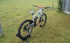 Lapierre Dh 722 Downhill Bike L Saint Rock Shox Boxxer Worldcup FOX Kashima Chris King ZTR