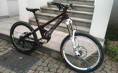 Cope Statement Freeride Bike Gr.M in schwarz/weiß/braun