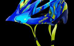 Troy Lee Designs A1 HELM GALAXY MATTE BLUE