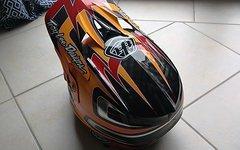 Troy Lee Designs Troy Lee Desing D3 Carbon Speed Orange Gr. M