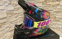 Troy Lee Designs D3 Blacklight Gr. S