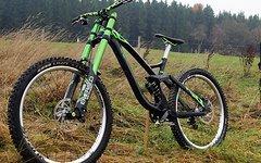 NS Bikes FUZZ 1 Expert mit DVO Emerald und Jade uvp. sündhaft teuer, bestes DH Bike ever !!!