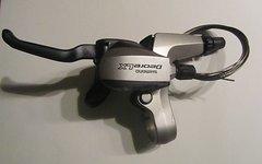 Shimano Deore LX Dual Control Hebel 3-fach links Felgenbremsen