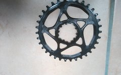 Absolute Black 34 T Kettenblatt Narrow Wide Sram