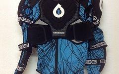 661 SixSixOne Evo Pressure Suit, Protektoren Weste, schwarz/blau, Gr. XL