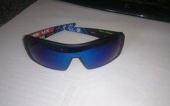 Fox Race Divison Sunglasses, Top Zustand, Black, blue