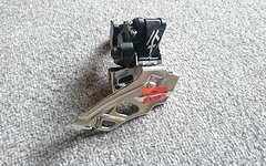 Shimano DEORE XT Umwerfer FD-M786 2x10 DOWN SWING DUAL PULL SCHWARZ NEU