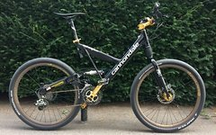 Cannondale Super V 600 Total Umbau
