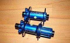Tune Set King Kong 32-Loch Disc Naben-Satz blau X12 QR 15 Schnellspanner XX1 Shimano hubs blue