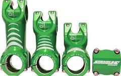 Straitline AMP MTB-Vorbau 0° rise 31,8 mm, 70 oder 90 mm, grün