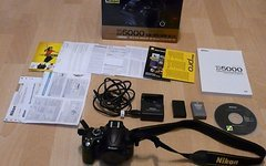 Nikon D5000 Spiegelreflexkamera DSLR aus Kit neuwertig OVP PayPal