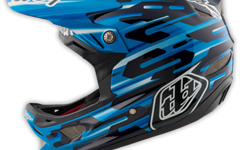 Troy Lee Designs D3 HELM Gr. L (MIPS) CARBON CODE BLUE