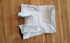 Btwin kurze Radhose Gel MTB Enduro XC  Weiß