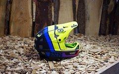 IXS XULT Enduro Fullface Helm S/M -lime-