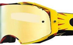 Oakley Airbrake MX High Voltage Rot-gelb-24K Iridium Goggle Air Brake