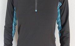 Rp Runner's Point Langarmshirt Größe 38 grau/hellblau