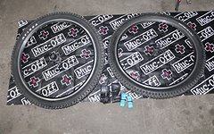 "Shimano LX Laufradsatz 26"" Tioga DH 2.3 Reifen"