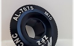 Aluminium Kurbelschraube M20 *schwarz*