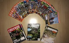 Mountainbike Freeride / Gravity / Moutainbike Magazinrider