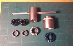Park Tool CRC-1 und CRC-15 Gabelkonusfräser im Set