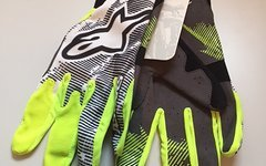 Alpinestars Aero Gloves Yellow Fluo Black XXXL