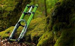 Dvo Emerald jade green Federgabel 2015 Downhill,Freeride