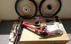 Specialized Demo 8 S-Works Carbon size L new 2016