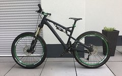 "Rose Uncle Jimbo 1 2013 ""M"" schwarz 26"" Enduro/Freeride"