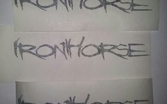 Iron Horse Aufkleber Sticker