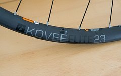 Bontrager Kovee Elite 23 TLR 29 Boost Carbon Laufradsatz MTB