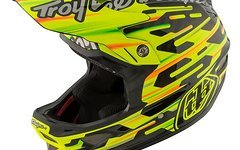 Troy Lee Designs D3 Carbon MIPS Code Yellow S *NEU*
