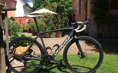 Specialized Tarmac UDi2 Specialized Tarmac UDi2 2016 56 Rennrad inkl power2max NG