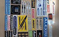 Sticker Vieler Marken Sticker