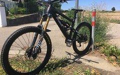 Liteville 601 Gr M - schwarz - Enduro/Downhill/Freeride