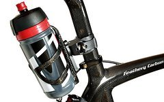 M-Bike Parts, Feathery Carbon Sattelflaschenhalter - FC151Sportly Elite Jossanova smoke red.