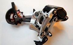SRAM X0 Type 2 Schaltwerk 10-fach inkl. KCNC Tuning Röllchen