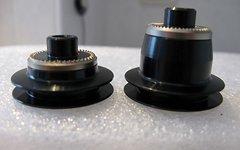DT Swiss Endkappen VR 240s, 180 Centerlock Fifteen, Tricon auf QR / 5x100mm, HWGXXX0002328S
