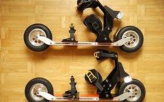 """Ski-Roller """"skike"""" Barthelmes Modell XRS03"""