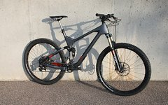 Marin Rift Zone C-XC9 29er 52cm L Carbon Fully 1x11 Fox Sram 120/110mm
