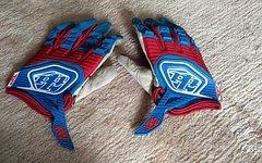 Troy Lee Designs Blue Red 2011 GP MX Handschuhe