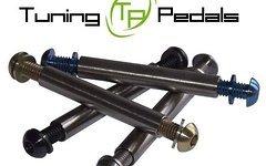 Tuning Pedals Titan Dämpfer Achsen inkl. Titanschrauben und Scheiben