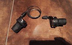 SRAM X0 3x9 GripShift Schaltgriffe in Carbonoptik ca 170g