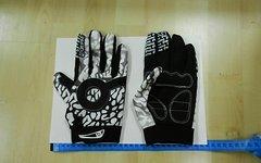 Handschuhe MtB/Trail/Enduro soft in weiß XL