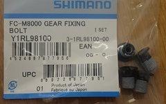 Shimano 4 Stk. Shimano Kettenblattschrauben FC-M8000