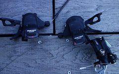 Shimano Schaltung Deore XT / Deore 3x10