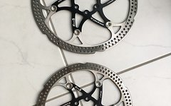 Grade5 Floating Discs Bremsscheiben 203+180mm schwarz